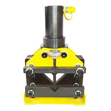 Techtongda 33inch Hydraulic Angle Busbar Cutter Cut 20T 0.28'' Max. Thickness Item# - 45 Deg Angle Cutter