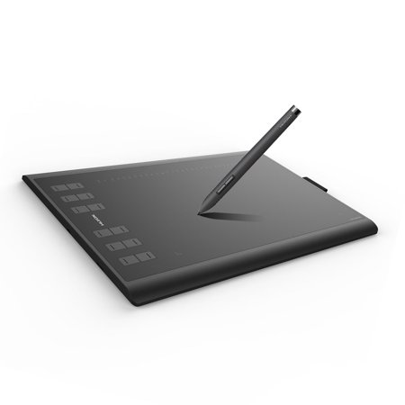 Huion New 1060 Plus Graphics Drawing Tablet, 10