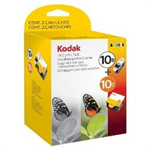Kodak 425/420 Page Yield 10B Black 10C Color Ink Cartridge Combo for ESP Printers 8367849