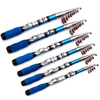 """New Telescopic Fishing Rod Super Short Retractable Folding Poles for Saltwater"""