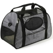 "Gen7Pets Carry-Me Dog Travel Carrier, Gray Shadow, Small, 20""L x 10""W x 13.50""H"