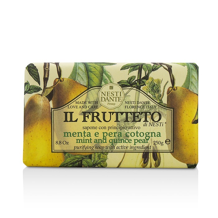 Il Frutteto Purifying Soap - Mint and Quince Pear 8.8oz