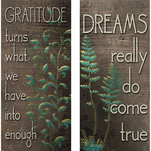 Gratitude and Dreams, Set of 2