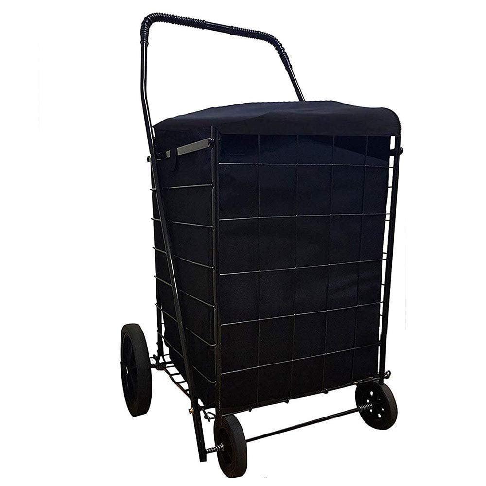Sandusky FSC3012 Folding Shopping Cart 66 lbs Capacity Material Plastic Red