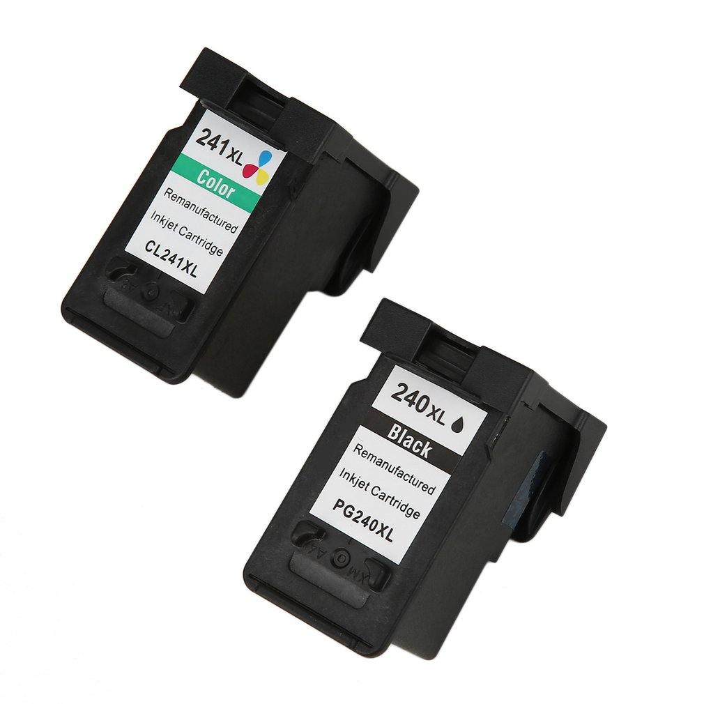 Compatible for Canon PG240 and 241XL Black Tri-color Prin...