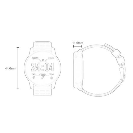 Smart Bracelet B2 Smart Watch Silicone Outdoor Sports Bracelet Pedometer - image 6 de 6