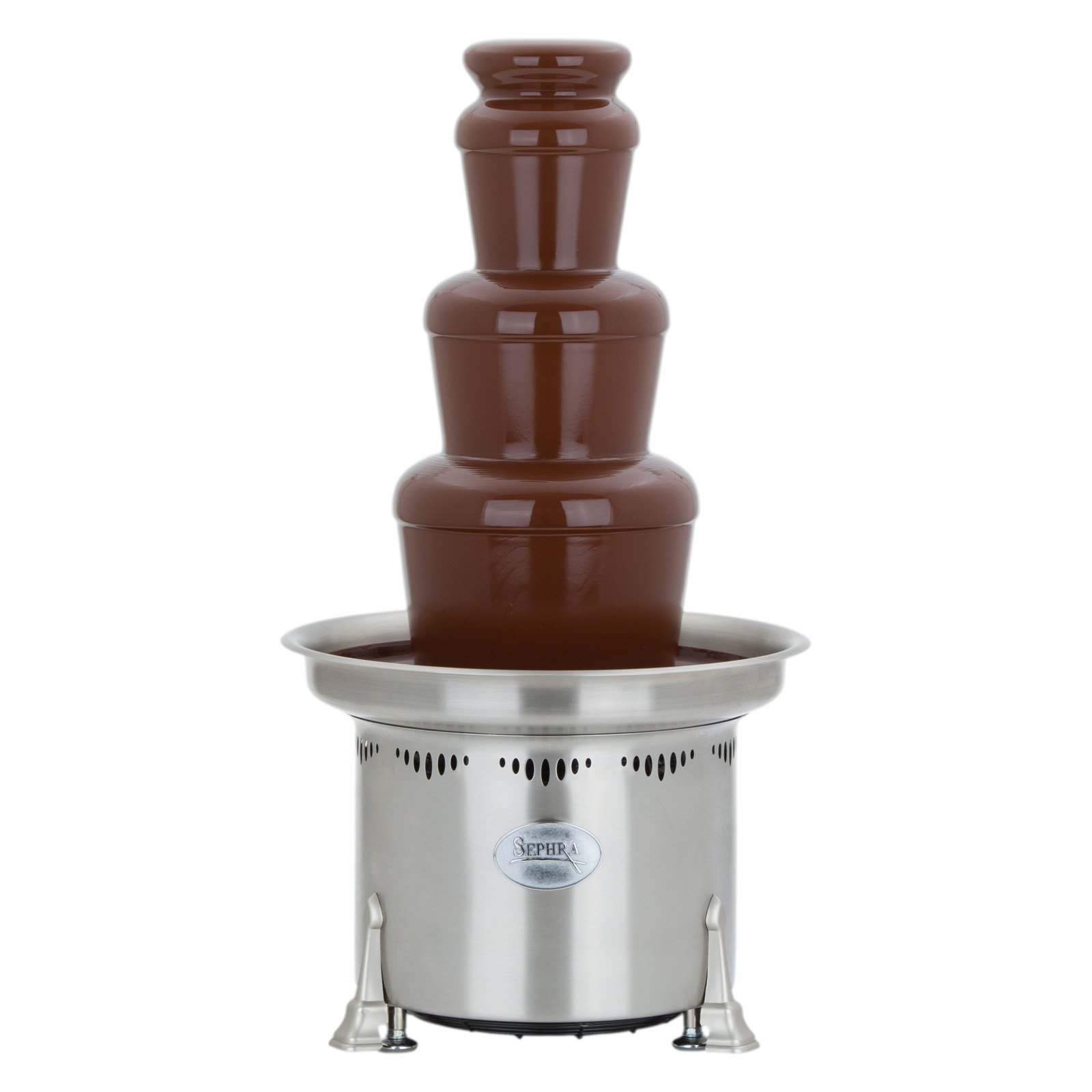 A chocolate fountain is an easy, affordable way to provide a delicious, fun dessert.