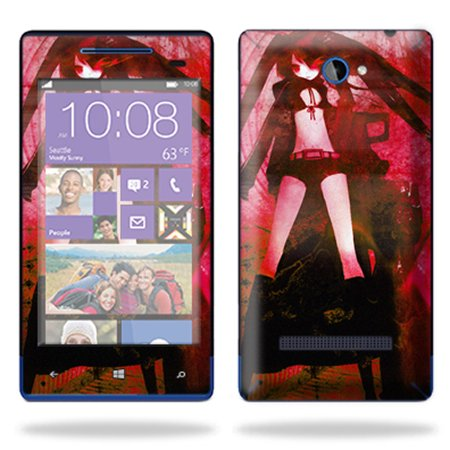 MightySkins Skin For HTC Windows Phone 8S Cell Phone, | Protective, Durable, and Unique Vinyl Decal wrap cover Easy To Apply, Remove, Change Styles Made in the (Htc Windows Mobile Phone)