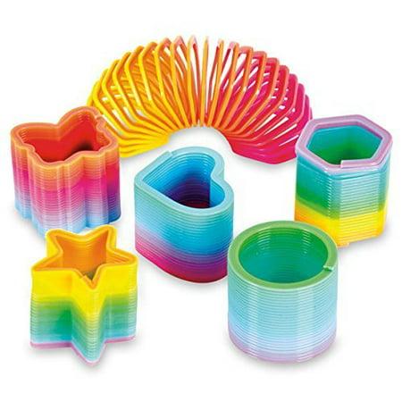 Rainbow Coil - 50 Assorted Mini Rainbow Coil Spring