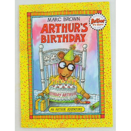 Arthur's Birthday by Marc Brown (1991, Paperback) An Arthur Adventure](Marc Brown Arthur Halloween)