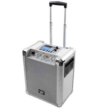 PylePro Battery Powered Portable PA System With USB/SD, DJ Controls and Aux (Best Pylepro Usb Rechargeable Batteries)