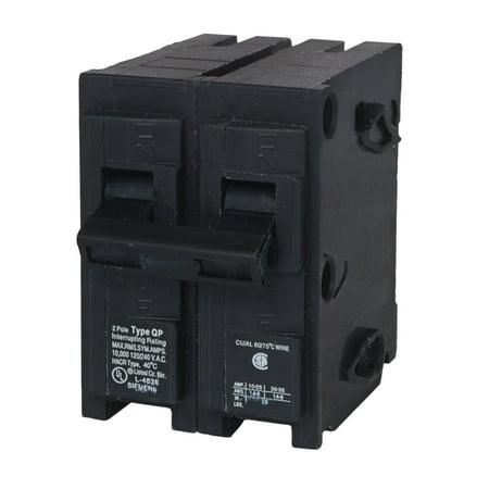 Amps 2 Pole 240 Coil (MURRAY (6 Pack) MP240 2 Pole 40 Amp 240 Volt Breaker )