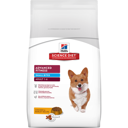 (Hill's Science Diet Adult Advanced Fitness Small Bites Dry Dog Food, 35 Lb)