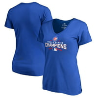 Chicago Cubs Women's 2016 World Series Champions Walk T-Shirt - Royal