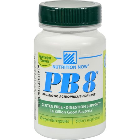 Nutrition Now Pb 8 Pro-Biotic Acidophilus For Life - 500 Mg - 60 Vegetarian