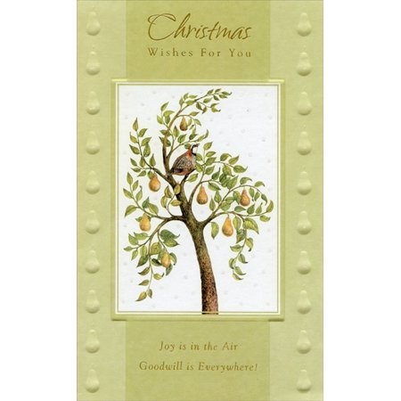 Freedom Greetings Partridge in Pear Tree Christmas Card