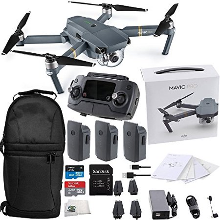DJI Mavic Pro Collapsible Quadcopter Ultimate Backpack Bundle