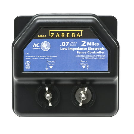 Zareba 2-Mile AC-Powered Electric Fence Charger