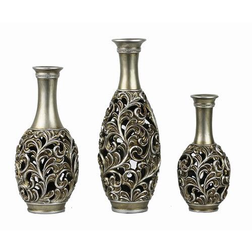 D Lusso 3 Lucrezia Designs Vase Set
