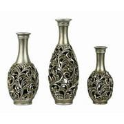 D'lusso Designs Lucrezia 3 Vase Set