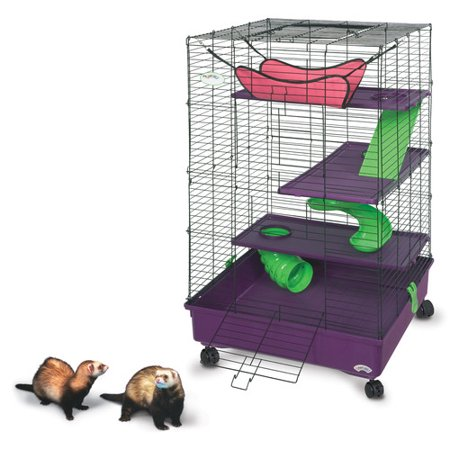 Super Pet 2' My First Deluxe Multi Floor with Stand Ferret Home