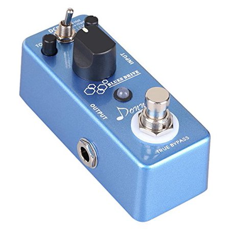 Donner Blues Drive Classical Electronic Vintage Overdrive Guitar Effect Pedal True Bypass Warm/Hot