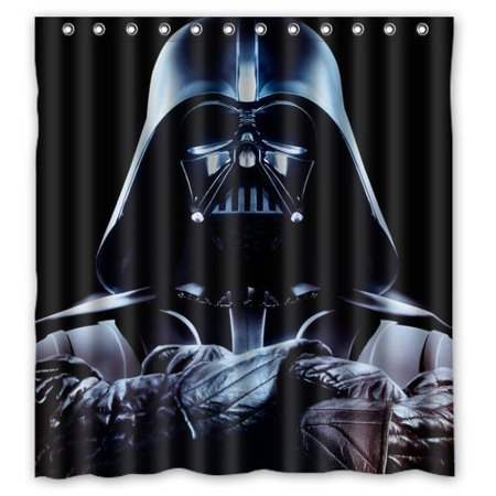 DEYOU Star Wars Shower Curtain Polyester Fabric Bathroom Size 66x72 Inch
