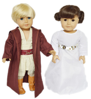 My Brittany's Star Wars Inspired Set for American Girl Dolls-18 Inch Doll Clothes for American Girl Dolls