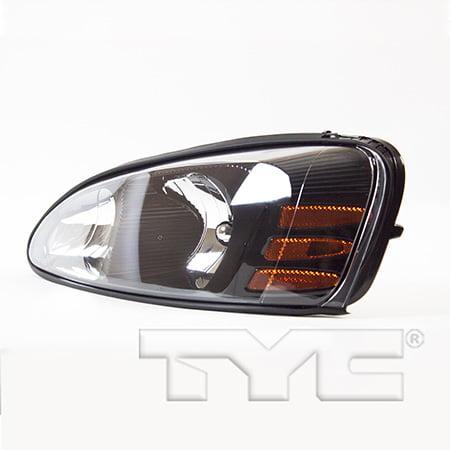 TYC 20-6488-00-1 Pontiac Grand Prix Left Replacement Head Lamp