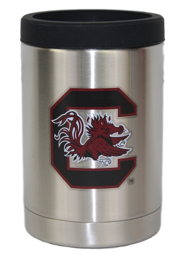 South Carolina Gamecocks NCAA Stainless Steel Insulated 12oz Jacket with Seal by Gametime Sidekicks