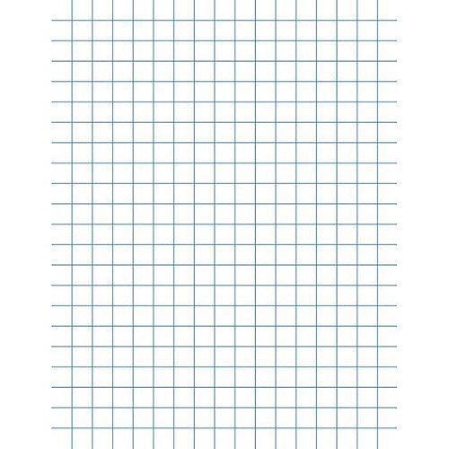 Graph paper walmart school smart double sided graph paper with chipboard back 85 x 11 malvernweather Images