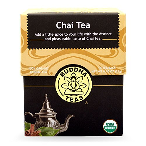 Buddha Teas Chai Tea, 18 Ct