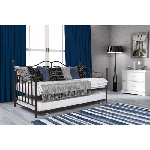 Tokyo Twin Daybed and Trundle, Brushed Bronze