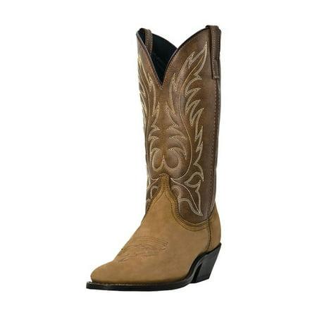 Laredo Boots Women - Laredo Western Boots Womens Leather Kadi Cowboy Distressed Tan 5742