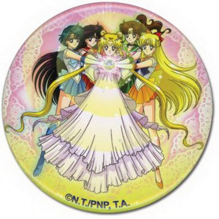 Sailor Moon Serenity Group 2 Inch Button Ge 82001