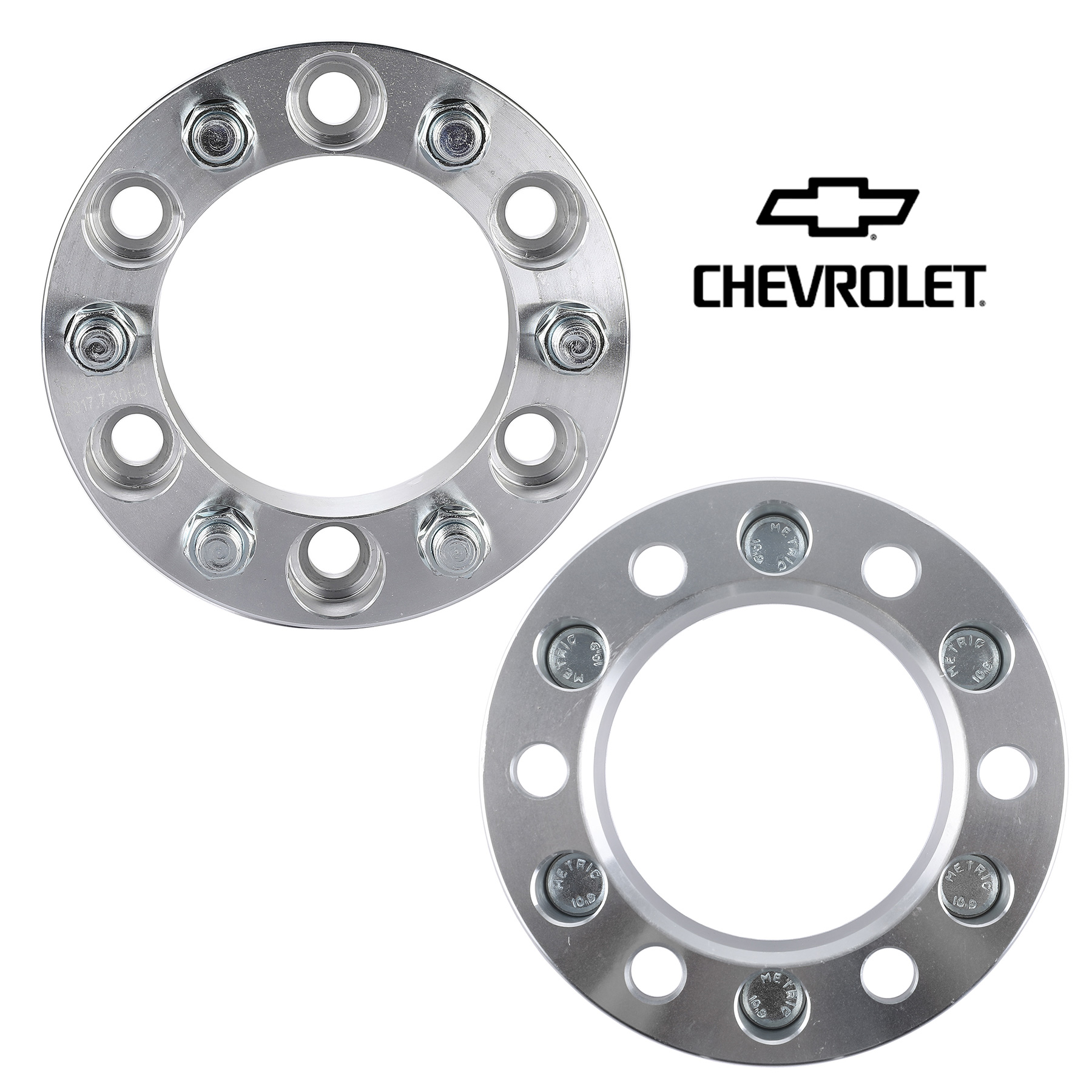 Wheel Spacers Adapters fits 8 lug Chevy and GMC 2 inch SAME DAY SHIIPING