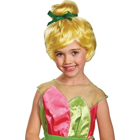 Morris Costumes Tinker Bell Child Wig Costume
