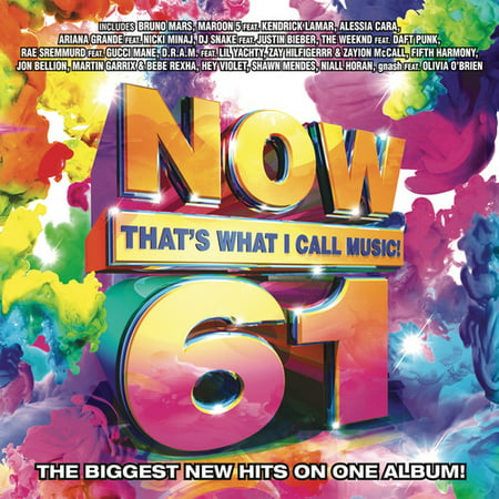 Now 61  Thats What I Call Music  Cd