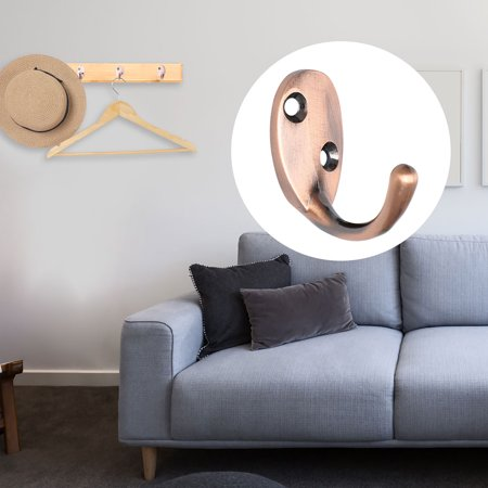 Zinc Alloy Wall Hooks Robe Hooks DIY Scarf Bags Hangers Home Storage H