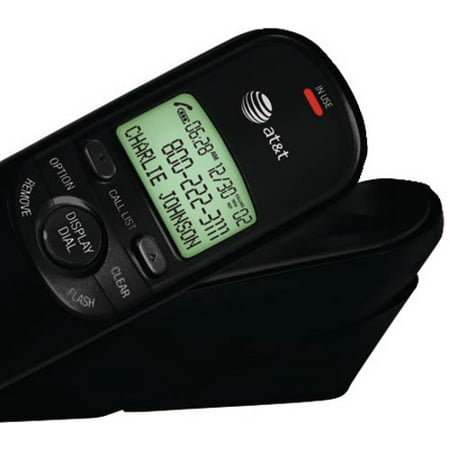 AT&T TR1909 Trimline Corded Phone with Caller ID, (Best Caller Id App For Android)
