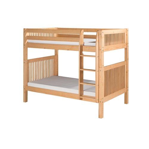 Harriet Bee Oakwood Twin over Twin Bunk Bed