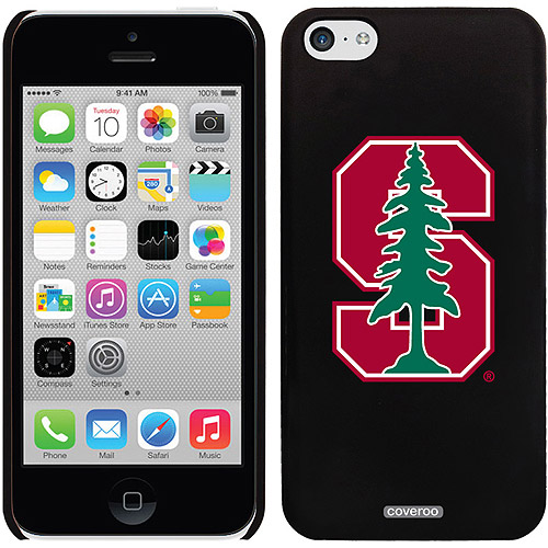 Stanford University S with Tree Design on iPhone 5c Thinshield Snap-On Case by Coveroo