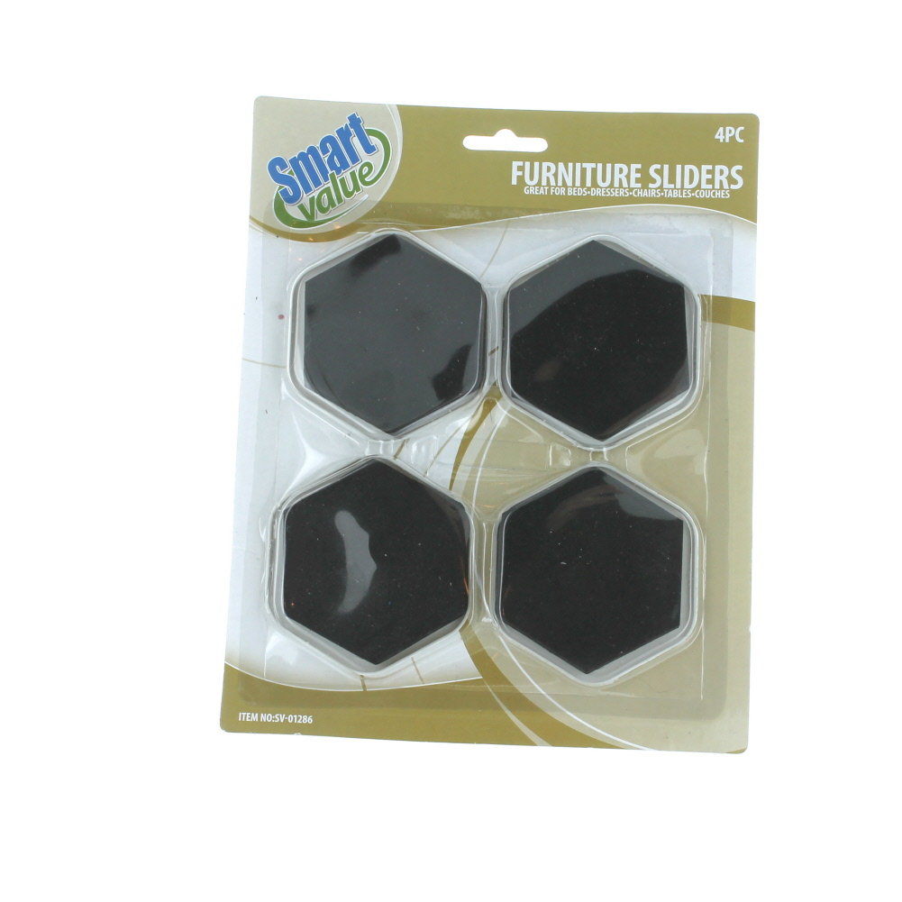 12 X Furniture Slider Pads Movers Floor Protector Carpet Tile Wood Magic Other Home Organization