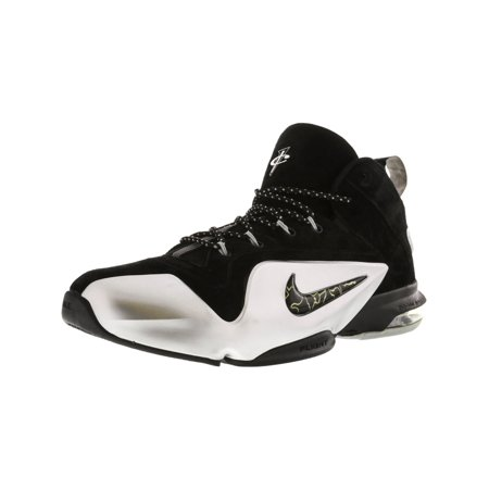 sports shoes 96801 74b9a Nike Men s Zoom Penny Vi Game Royal   Black-White High-Top Basketball Shoe  ...