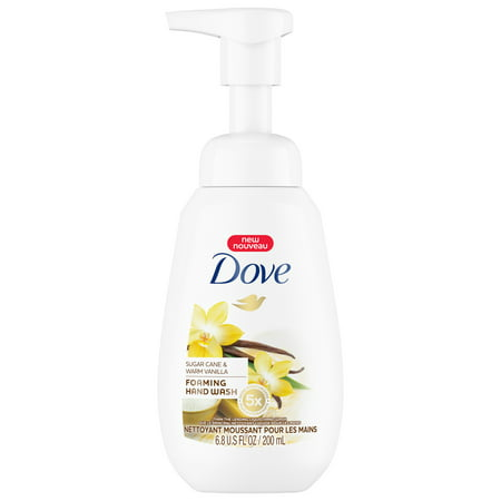 (3 pack) Dove Foaming Hand Wash, Sugar Cane & Warm Vanilla, 6.8 Oz