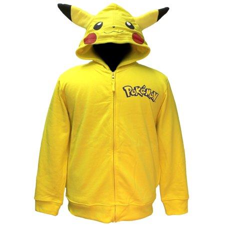 Pokemon Boys' Pikachu Costume Hoodie (Pikachu Hoodie For Sale)