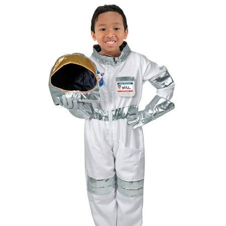Childrens Astronaut Role Play (Children's Playing Card Costume)