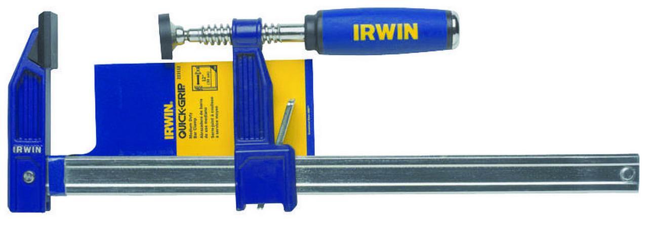 Irwin Quick Grip 223112 Clutch Lock Bar Clamp, 12 in, Steel by Irwin