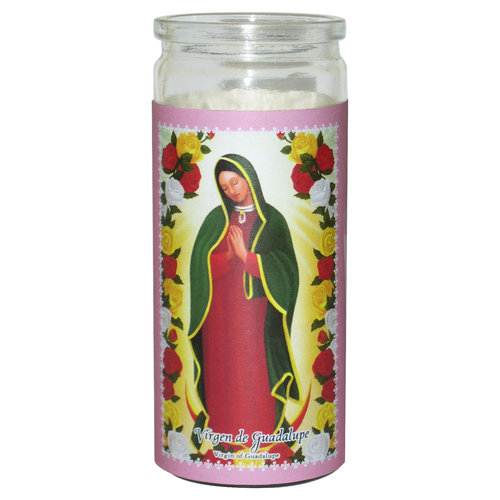 Candles virgin de guadalupe
