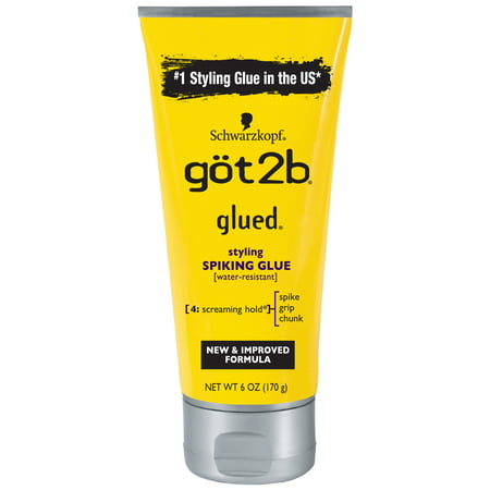 Got2b Glued Styling Spiking Hair Glue, 6 (Weaving Glue)